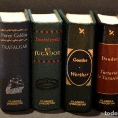 Libros de segunda mano: LOTE 4 LIBRO GRANDES OBRAS DE LA LITERATURA EN MINIATURA PLANETA DE AGOSTINI. Lote 98982343