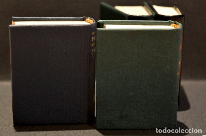 Libros de segunda mano: LOTE 4 LIBRO GRANDES OBRAS DE LA LITERATURA EN MINIATURA PLANETA DE AGOSTINI - Foto 3 - 98982343