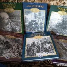 Livros em segunda mão: LOTE 6 TOMOS ED. EDIMAT 2003 CON ILUSTRACIONES DE DORE. QUIJOTE, PARAISO PERDIDO, LAS CRUZADAS, ETC. Lote 117539059