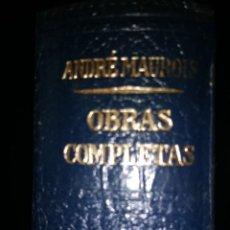 Libros de segunda mano: ANDRÉ MAUROIS. OBRAS COMPLETAS. TOMO V. LOS CLÁSICOS DEL SIGLO XX. JOSÉ JANÉS EDITOR. TERCERA EDICIÓ. Lote 117809131