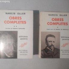 Libros de segunda mano: OBRES COMPLETES / NARCÍS OLLER EDITORIAL SELECTA. Lote 118011671