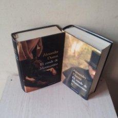 Libros de segunda mano: ALEXANDRE DUMAS - EL CONDE DE MONTECRISTO 2 TOMOS - CIRCULO DE LECTORES 2009. Lote 118451851
