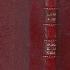 Libros de segunda mano: DIEGO SAAVEDRA FAJARDO. REPÚBLICA LITERARIA. MADRID, 1941. CLÁSICOS CASTELLANOS. 1/2 PIEL.. Lote 118590471