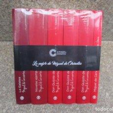 Libros de segunda mano: MIGUEL DE CERVANTES RETRATO DE UN GENIO, IV CENTENARIO - 6 TOMOS AUN RERACTILADOS 2016 + INFO FOTOS. Lote 118669715