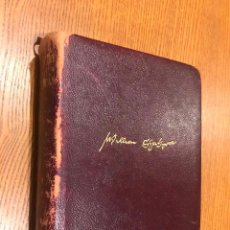 Libros de segunda mano: OBRAS COMPLETAS DE WILLIAM SHAKESPEARE. AGUILAR. 1951. 10ª ED. . Lote 118674319