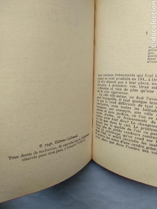 Libros de segunda mano: LA PESTE - ALBERT CAMUS. LE LIVRE DE POCHE, 1966. - Foto 3 - 118687567
