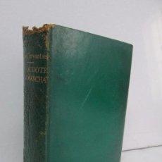 Libros de segunda mano: MIGUEL DE CERVANTES. DON QUIJOTE DE LA MANCHA. EDICIONES CASTILLA. EDICION IV CENTENARIO.. Lote 118709255