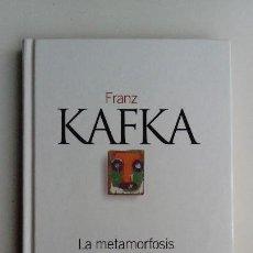 Libros de segunda mano: LA METAMORFOSIS Y OTROS RELATOS, FRANZ KAFKA. 254 GRAMOS.. Lote 118937267