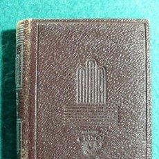 Libros de segunda mano: LA VIDA DE LAZARILLO DE TORMES Y DE SUS FORTUNAS Y AVERSIDADES / 1956. AGUILAR CRISOLIN. Lote 119152535