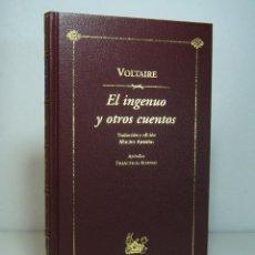 Libros de segunda mano: EL INGENUO Y OTROS CUENTOS (EDICIÓN DE 2002), VOLTAIRE. ESPASA CALPE, COLECCIÓN BIBLIOTECA AUSTRAL.. Lote 119244471