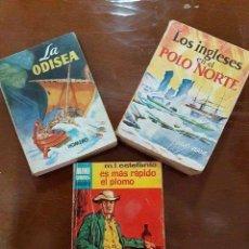 Libros de segunda mano: 124 LIBRITOS ENCICLOPEDIA PULGA AÑO 1959. Lote 119471843
