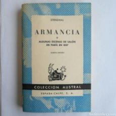 Libros de segunda mano - ARMANCIA STENDHAL COLECCIÓN AUSTRAL N °10 1968 - 124956106
