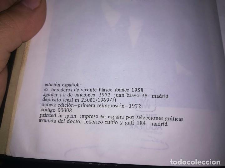 Libros de segunda mano: Obras completas Aguilar Blasco Ibáñez 1,2y3 tomos miren fotos - Foto 7 - 119557115