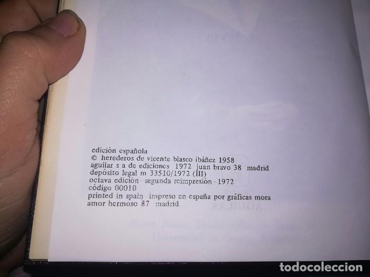 Libros de segunda mano: Obras completas Aguilar Blasco Ibáñez 1,2y3 tomos miren fotos - Foto 9 - 119557115