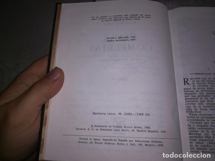 Libros de segunda mano: Obras completas Aguilar Blasco Ibáñez 1,2y3 tomos miren fotos - Foto 10 - 119557115