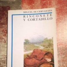 Libros de segunda mano: RINCONETE Y CORTADILLO - MIGUEL DE CERVANTES - BIBLIOTECA DIDÁCTICA ANAYA Nº 6. Lote 119992679