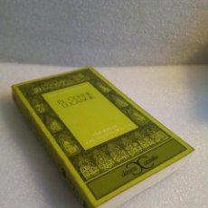 Libros de segunda mano: EL CONDE LUCANOR CLASICOS CASTALIA . Lote 120095931