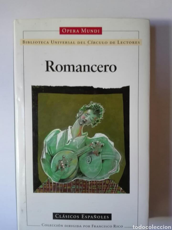 ROMANCERO. (Libros de Segunda Mano (posteriores a 1936) - Literatura - Narrativa - Clásicos)