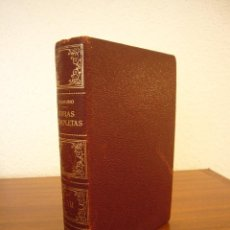 Libros de segunda mano: MIGUEL DE UNAMUNO: OBRAS COMPLETAS VOL. VII (AFRODISIO AGUADO, 1959) PLENA PIEL Y PAPEL BIBLIA. Lote 120142451