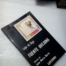 Libros de segunda mano: LOPE DE VEGA FUENTEOVEJUAN CATEDRA. Lote 120167571