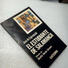 Libros de segunda mano: EL ESTUDIANTE DE SALAMANCA JOSÉ DE ESPRONCEDA. Lote 120168119