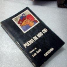 Libros de segunda mano: LIBRO POEMA DE MIO CID ED. COLIN SMITH CATEDRA. Lote 120168735