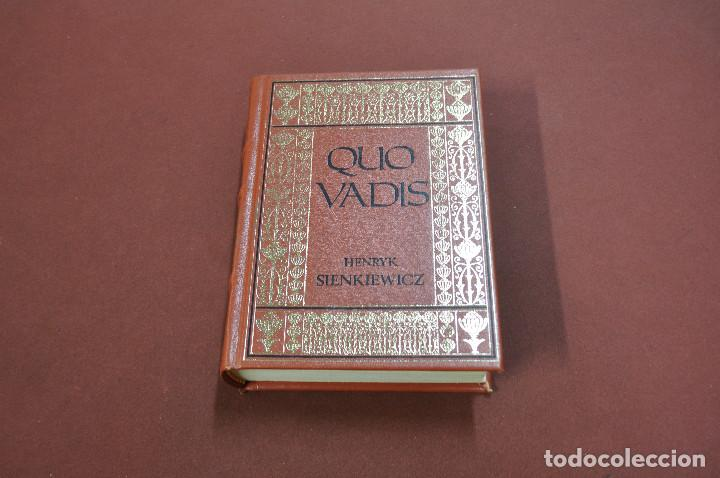 QUO VADIS - HENRYK SIENKIEWICZ - PRIMER VOLUMEN - CLB (Libros de Segunda Mano (posteriores a 1936) - Literatura - Narrativa - Clásicos)