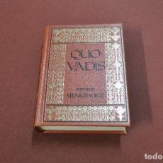 Libros de segunda mano: QUO VADIS - HENRYK SIENKIEWICZ - PRIMER VOLUMEN - CLB. Lote 120339959
