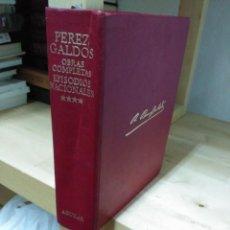 Libros de segunda mano: BENITO PEREZ GALDOS. OBRAS COMPLETAS TOMO IV. EPISODIOS NACIONALES. ED. AGUILAR. Lote 120466335