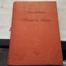 Libros de segunda mano: MERCEDES FORMICA. MONTE DE SANCHA. PRIMERA EDICIÓN LUIS DE CARALT DE 1950. Lote 120708331