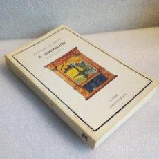 Livres d'occasion: A CONTRAPELO JORIS KARL HUYSMANS CÁTEDRA 1ª ED 1984. Lote 120831619