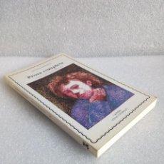 Livres d'occasion: PROSA COMPLETA ARTHUR RIMBAUD CATEDRA SIN LEER PRIMERA EDICION 1991. Lote 120926891
