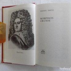 Libros de segunda mano: LIBRERIA GHOTICA. LUJOSA EDICION AGUILAR. DE DANIEL DEFOE. ROBINSON CRUSOE. 1977. ILUSTRADO.. Lote 121148627