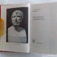 Libros de segunda mano: LIBRERIA GHOTICA. LUJOSA EDICION AGUILAR DE LUCIO ANNEO SENECA. TRAGEDIAS COMPLETAS. 1970.. Lote 121149327