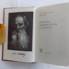 Libros de segunda mano: LIBRERIA GHOTICA. LUJOSA ED. AGUILAR DE TOLSTOI. INFANCIA. ADOLESCENCIA. JUVENTUD. 1969.. Lote 121149759