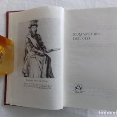 Libros de segunda mano: LIBRERIA GHOTICA. LUJOSA ED. AGUILAR DE ROMANCERO DEL CID. 1975. Lote 121150479