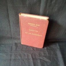 Libros de segunda mano: WASHINGTON IRWING - CUENTOS DE LA ALHAMBRA - EDIT. PADRE SUAREZ 1ª EDICION 1951 - FIRMADO. Lote 121223823