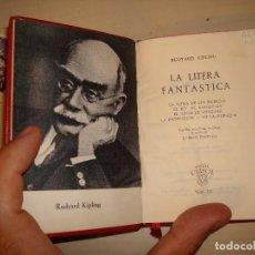 Libros de segunda mano: RUDYARD KIPLING. LA LITERA FANTÁSTICA. AGUILAR. CRISOL 321.. Lote 121274907