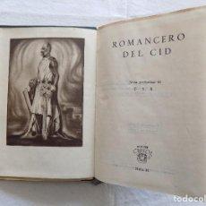 Libros de segunda mano: LIBRERIA GHOTICA. ROMANCERO DEL CID. AGUILAR. 1944. CRISOL 41. Lote 121454915