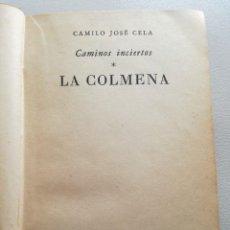 Libros de segunda mano: CAMILO JOSE CELA: LA COLMENA, PRIMERA EDICIÓN (BUENOS AIRES, 1951) - EMECÉ EDITORES. Lote 121592103