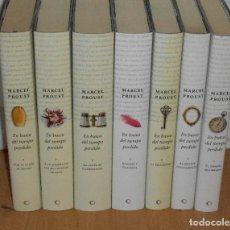 Libros de segunda mano: PROUST, EN BUSCA DEL TIEMPO PERDIDO · CÍRCULO DE LECTORES, EDICIÓN Y TRADUCCIÓN: 1999. Lote 121723847