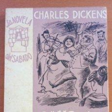 Libros de segunda mano: CANCION DE NAVIDAD. CHARLES DICKENS. LA NOVELA DEL SÁBADO N°88.. Lote 122082204