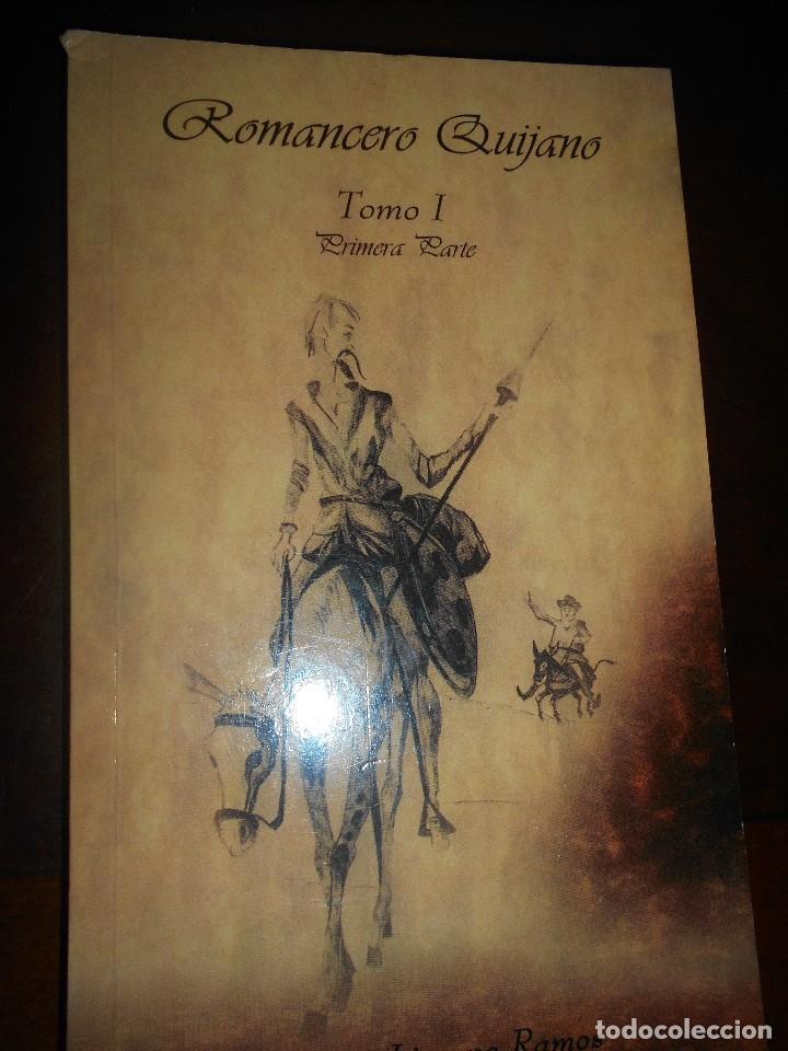 LIBRO ROMANCERO QUIJANO (Libros de Segunda Mano (posteriores a 1936) - Literatura - Narrativa - Clásicos)