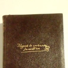 Libros de segunda mano: 1956 OBRAS COMPLETAS DE MIGUEL DE CERVANTES SAAVEDRA - AGUILAR. Lote 122267751