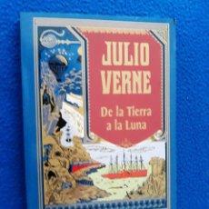 Libros de segunda mano: JULIO VERNE: DE LA TIERRA A LA LUNA - EDICIÓN ESPECIAL CENTENARIO. Lote 122444843