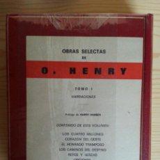 Libros de segunda mano: O. HENRY: NARRACIONES I (VER DETALLE DE TÍTULOS). OBRAS SELECTAS PLANETA - PRECINTADO. Lote 122616379