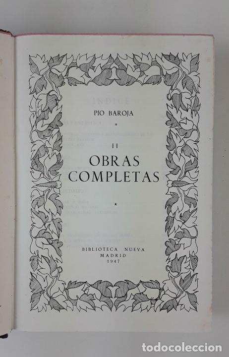 Libros de segunda mano: OBRAS COMPLETAS. PIO BAROJA. 5 TOMOS. BIBLIOTECA NUEVA. MADRID. 1946-1948. - Foto 6 - 122880647