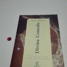 Libros de segunda mano: DIVINA COMEDIA. DANTE ALIGHIERI.. Lote 122963788