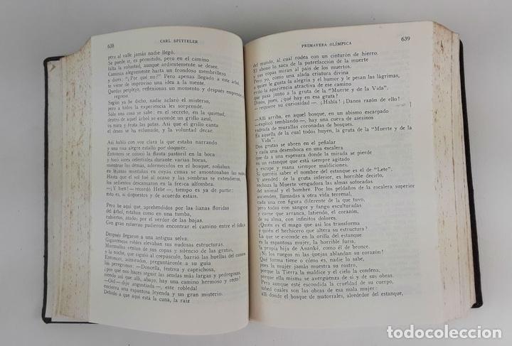 Libros de segunda mano: LOS PREMIOS NOBEL DE LITERATURA. TOMO VI. JOSÉ JANÉS EDITOR. BARCELONA. 1957. - Foto 4 - 123351963