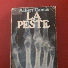 Libros de segunda mano: LA PESTE. ALBERT CAMUS.. Lote 124238579